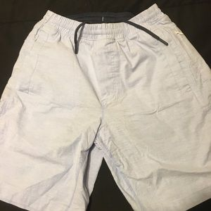 "Baby Blue Birdsogs Shorts 9 1/4"" inseam"